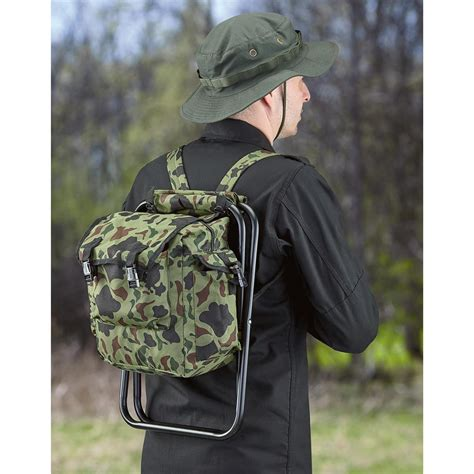 Stool Backpack - foldable c stool and backpack 644567 style