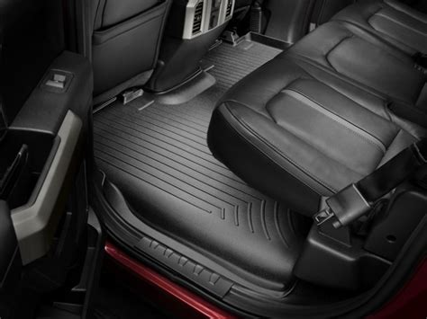 Screw Backseat Floor Mats Wseat Up (dog)  Ford F150