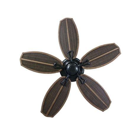 weatherproof fan rated box hton bay ceiling fan palm beach ii 48 quot outdoor natural