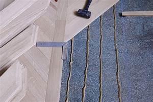 details of the installation parquets de tradition 16 With parquet fougère