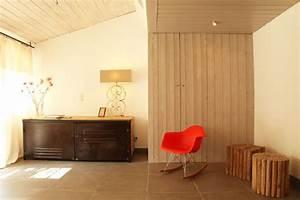 Mur Interieur En Bois De Coffrage : mur interieur en bois de coffrage resine de protection ~ Premium-room.com Idées de Décoration