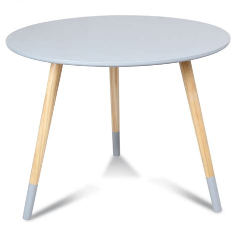 table ronde enfant table scandinave ronde enfant gris marmaille