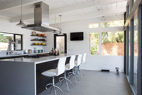 mid century modern home remodel  klopf architecture