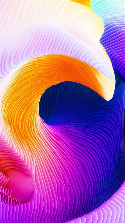 Wallpapers Surface Macbook Pro 3d Relief Sinuous