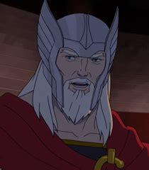 voice of thor old avengers assemble behind the voice