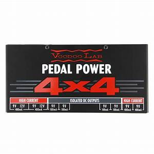 VooDoo Lab Pedal Power 4x4 Pedalboard Power Supply NEW | eBay