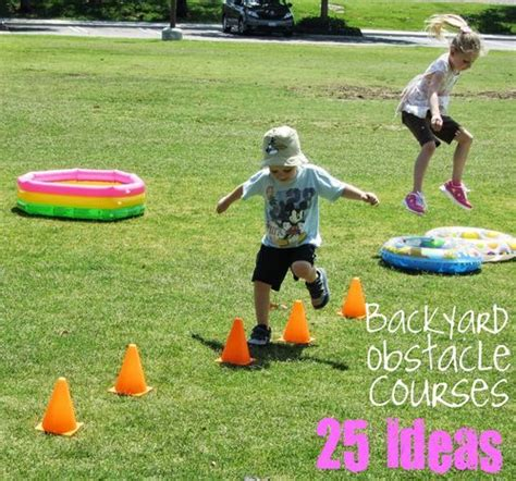 preschool obstacle course ideas backyard obstacle courses http www mommysavers c t 121