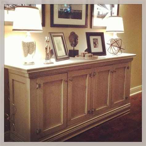 how to make a buffet cabinet diy sideboard the sweet life