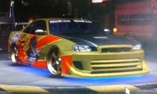 Need For Speed Underground 2 Nissan Skyline | NFSCars