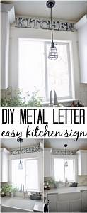 41 amazing diy architectural letters for your walls With kitchen colors with white cabinets with monogram letter stickers