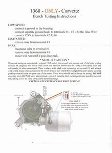 1968 Corvette Wiper Motor Wiring Issues Im Stuck Tried
