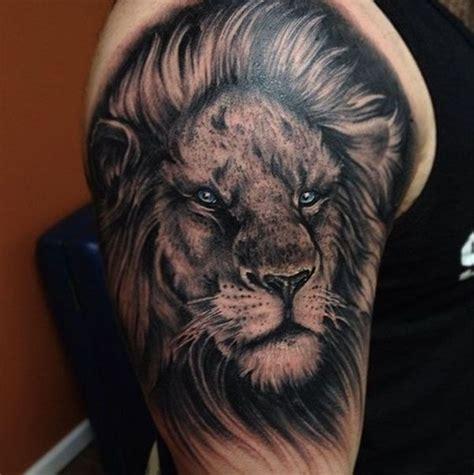 daring lion tattoo designs  men  women