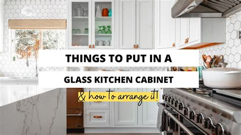 The question can you put your microwave in a kitchen cabinet is one that does not have its answers. What Do You Put In Glass Kitchen Cabinets? - Craftsonfire
