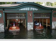 Annual Boathouse Tour on Lake Winnipesaukee WoodenBoat