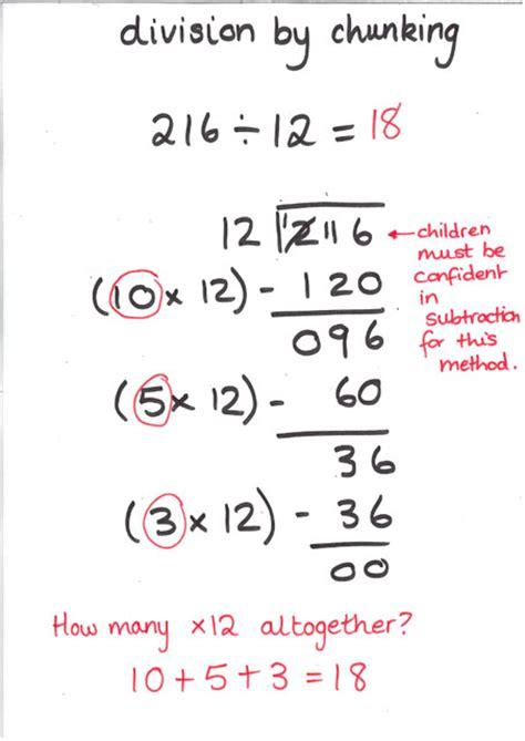 division worksheets chunking chunking method powerpoint ks2 division a guide for parents ks1 2 uk youtubedivision chunking