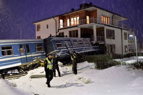 Woman Steals Train, Crashes It Into House