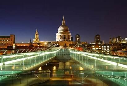 Bridge Millennium London Paul Wallpapers St Cathedral