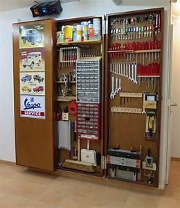 Werkzeugwand Selber Bauen : abschliessbare werkzeugwand garage ~ Watch28wear.com Haus und Dekorationen