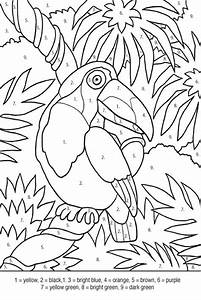 Pin Tropical Bird Coloring Pages Busy Bee Printables ...