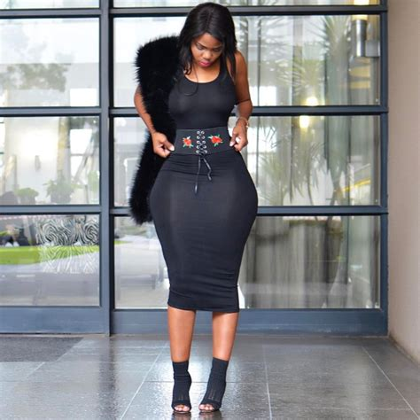 dress flow 5 londie londo zulu in a black dress kaka