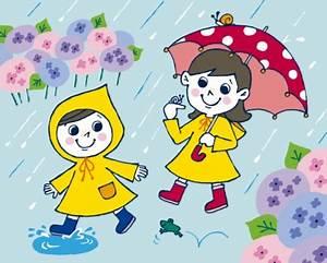Rainy Day Cartoon | Rainy Season Drawing Cartoon | Rainy ...