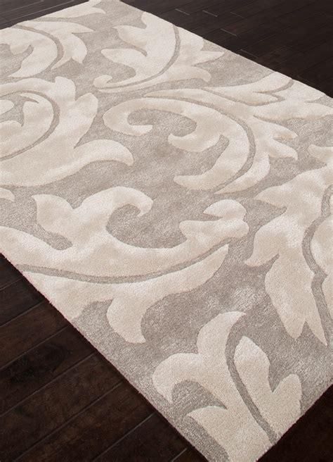 aloha baroque leaf area rug