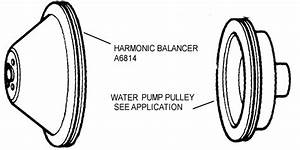 Harmonic Balancer  U0026 Water Pump Pulley