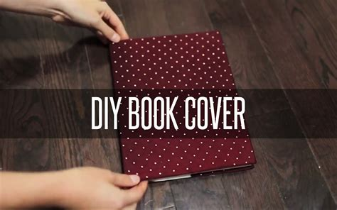 diy slip  book cover youtube