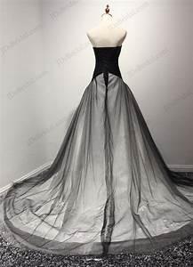 jw16201 unique notch neckline black and white ball gown With unique black and white wedding dresses