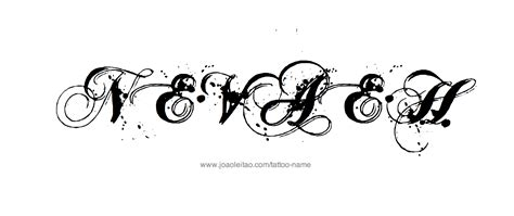nevaeh  tattoo designs