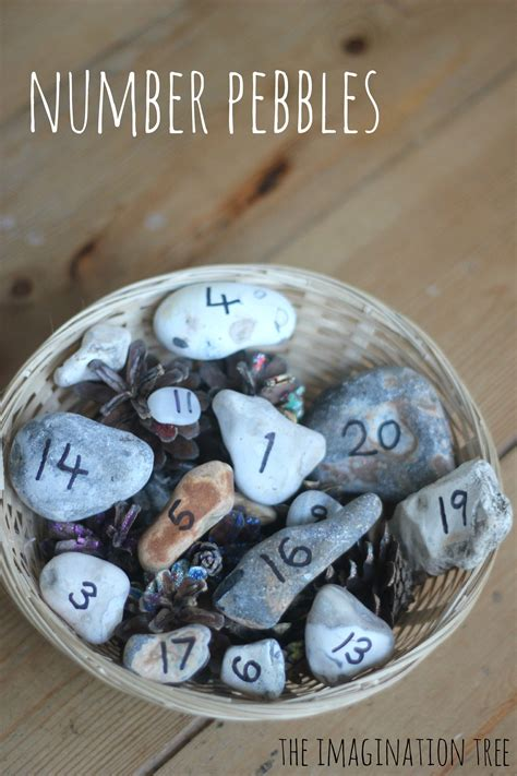 number pebbles  counting  addition maths activities