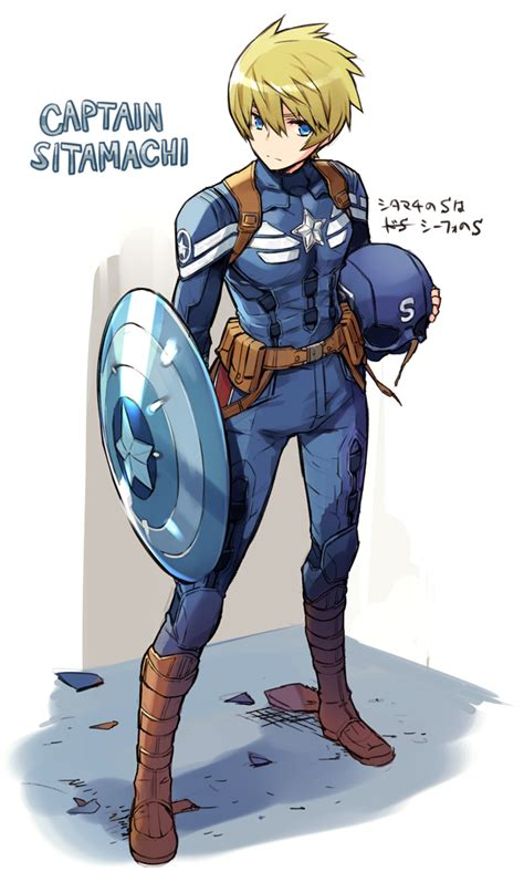 captain america cosplay zerochan anime image board