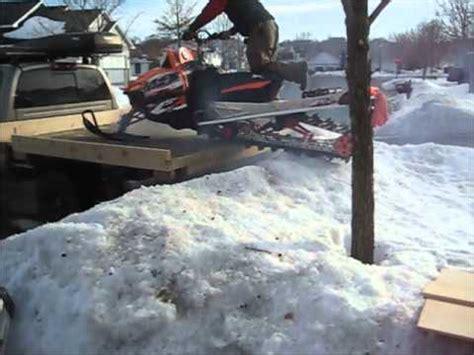 Wood Sled Deck Plans by Sled Deck Load Em Up Partner