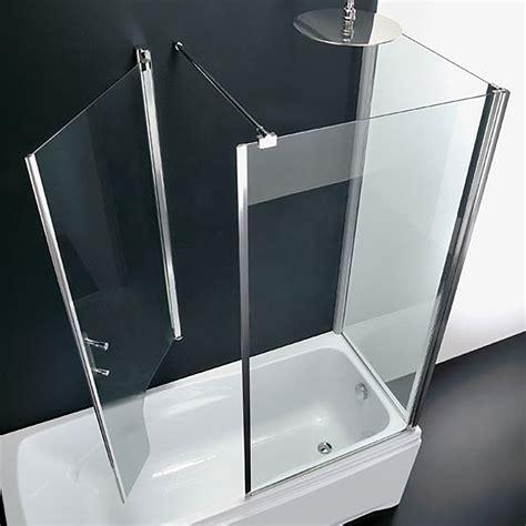 box doccia 3 lati cristallo box sopravasca 3 lati in cristallo trasparente anticalcare