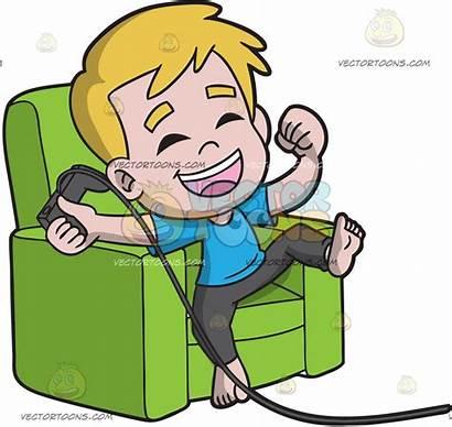 Playing Clipart Games Boy Boys Kid Happy