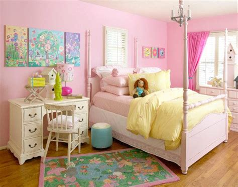 Unique Design Ideas For Decorating A Girls Bedroom