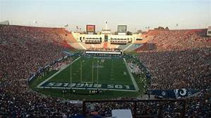 Coliseum Seating Chart Rams Los Angeles Memorial Coliseum Section 314 Row 10 Seat 1