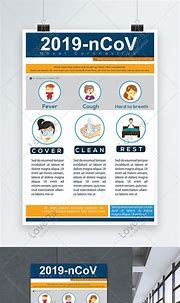 2019 ncov coronavirus prevention and detection poster ...