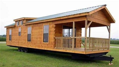 Tiny Log Cabin Home On Wheels Very Small Log Homes, design