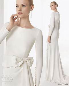 rosa clara 2013 wedding dresses wedding inspirasi page 3 With simple long sleeve wedding dresses