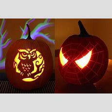 Spider Owl Halloween Pumpkin Carving 30+ Best Cool