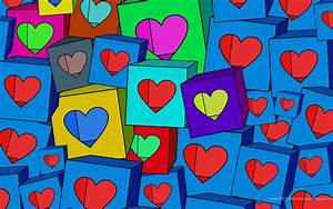 Colorful Hearts Backgrounds - Wallpaper Cave