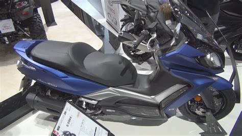 Kymco Downtown 250i 2019 by Kymco New Downtown 125i Abs 2019 Exterior And Interior