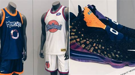 Space jam 2 has yet to round out its cast of current nba stars for the sequel to the hit 1996 film, and it's due to, of all things, shoes. Space Jam 2 Jersey's And LeBron 17 Sneakers Revealed - SPORTbible