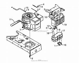Mtd 13am675g062  1998  Parts Diagram For Muffler  Over
