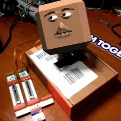 Box Head Pi Reality Augmented Raspberry Project