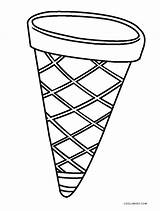 Cone Ice Cream Coloring Printable Pages Template Cool2bkids Drawing Snow Sheets Templates Print Sketch Getcolorings sketch template