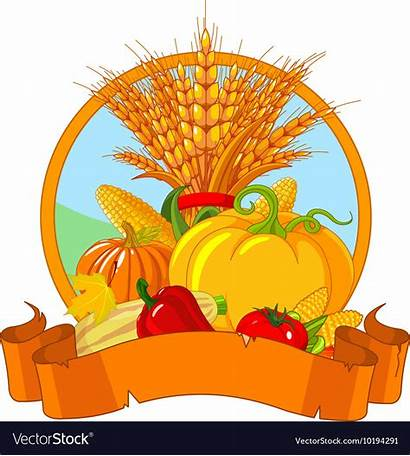 Thanksgiving Harvest Vector Royalty Colourbox Pumpkin