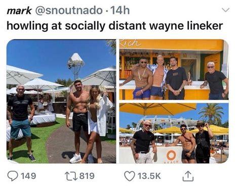 Wayne Lineker's social distancing snaps with Love Island ...