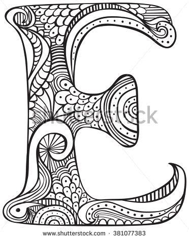 image result   colouring pages  adults letters
